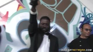 Preview 4 of Aiden Aspen Interracial Gangbang