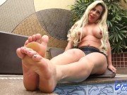 Sexy Tranny Toes In Heels for You