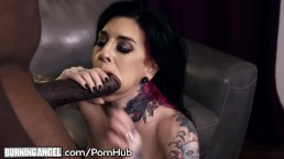 Mandingo's MONSTER BBC Slams Joanna Angel's Wet Hole