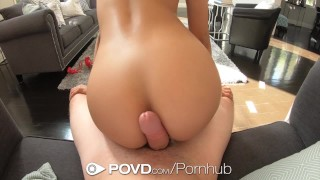 POVD Webcam beauty Maya Bijou caught by step dad and fucked