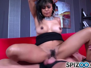 Spizoo - Latina Gabby Quinteros is pounded by a big dick, big booty