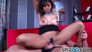 Spizoo Latina Gabby Quinteros is pounded by a big dick, big booty
