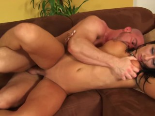Hot Brunette With Big Tits And Ass Gets Fucked