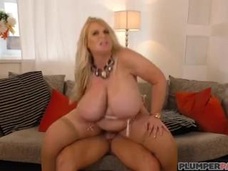Huge Tit British BBW MILF Samantha Sanders