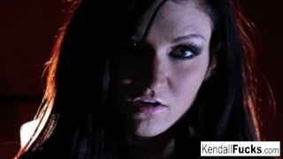 Wet getting much has way kendall her all pussy fun too masturbation skinny