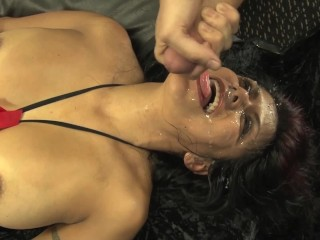 Gabby Quinteros BLOW BANG GROUP FUCK BLOWJOB CUM-FEST BUKAKKE