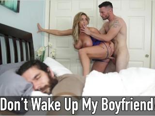 BANGBROS - MILF Eva Notty Gets Fucked While Her Boyfriend Sleeps