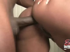 BBW Skyy Black Doggystyle Fucked