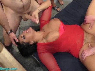 German Milf Ashley Cumstar extreme banged