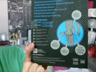 Stimulateur Prostatique & Cockring OptiMALE Duo (M'sieur Jeremy)
