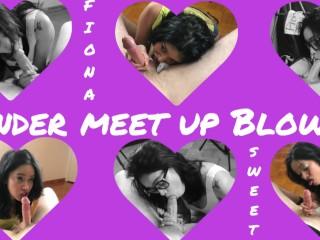 Fiona Sweet Tinder Meet Up Blowjob