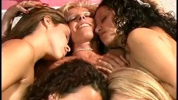 MILF Gets 4 Young Girls As A Valentine Day Present - From 2001