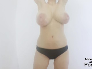 Preview 4 of F Cup Boobs Bounce So Hard they Clap !