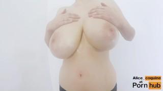 Clap so boobs cup they hard f bounce  kink jacks