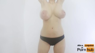 F Cup Boobs Bounce So Hard they Clap ! Sex interracial