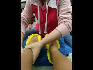 Sexy Feet And Pedi