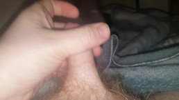 Young small dick cumshot