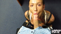 Your Boss Chantelle Fox fires you then sucks you off
