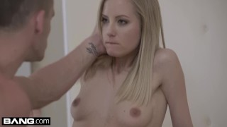 Glamkore Euro housewife Sicilia's tight pussy stretched