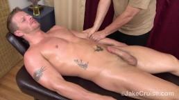 Jeremy Stevens Massaged by Jake Cruise