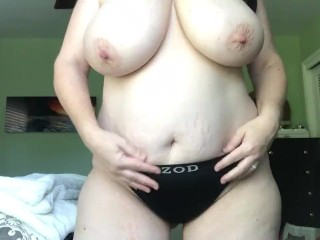 Huge Natural Tits MILF Pussy