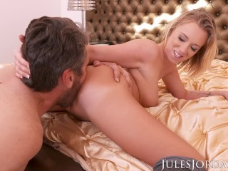 Jules Jordan - Bailey Brooke Is Caught Camming By Her Step-Father