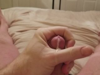 Quick Jerk to Porn after bath