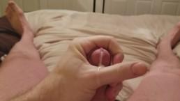 Quick Jerk to Porn after bath