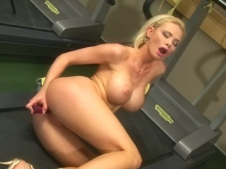 Caylian Curtis Is A Blonde And Busty Teen Who Loves To Get Off With Toys