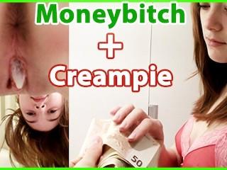 Creampie Escort xxx: Moneybitch + Creampie! Anny Aurora fucks for Money: Anny Aurora Escort