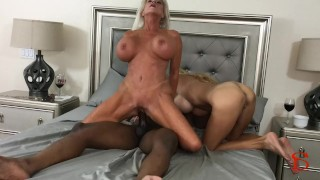 Black Piped Sally D'angelo Brooke Tyler 69 blowjob