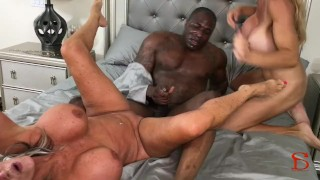 Black Piped Sally D'angelo Brooke Tyler Cock big