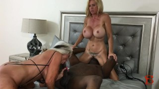 Black Piped Sally D'angelo Brooke Tyler Hardcore threesome