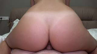 He too fail and pov early riding came grinding creampie in butt