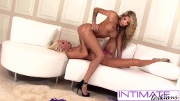 IntimateLesbians - Puma Swede & Kayla Carrera loves to fuck, big booty
