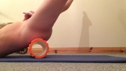 Playing with Foam Roller