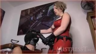 latex strapon mistress  mistress latex ass fuck strapon femdom