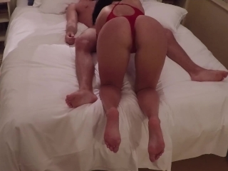 Wife gets cumshot on her pussy in hotel room sex - Naughtysoulmates