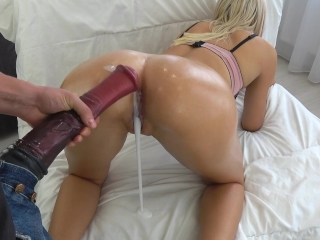 Burning up ballbusting tube