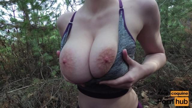 Huge tits anal dildo-9055