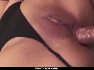 Top Asian fuck scenery with lovely Aika Hoshino – More at 69avs.com