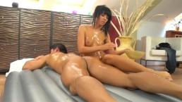 real slippery nuru massage with Gina Devine