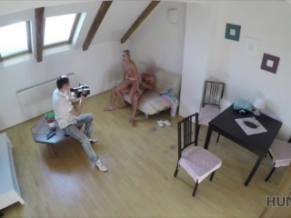HUNT4K. She almost lost her wallet but found crazy sex