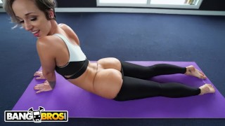 Stevens pawg jmac yoga all jada teaches bangbros about pawg booty