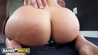 BANGBROS - PAWG Jada Stevens Teaches J-Mac All About Yoga Step facial