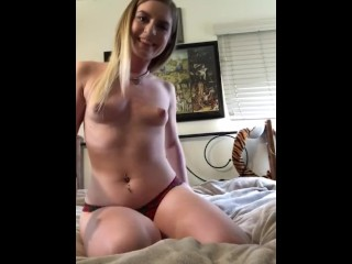 Daddy's Good Girl Cums With Buttplug