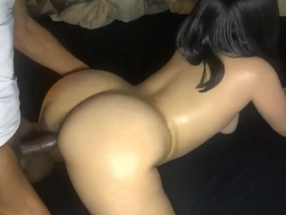 Black girl with white guys porn