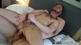 Kayden Gray and Koby Lewis ass fucking until a big facial