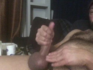 Daddy's huge nuts nut