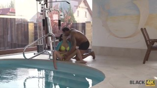 BLACK4K. Sex with Swimming Coach